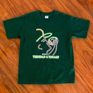 Vintage Suntan Trinidad & Tobago Island T-Shirt